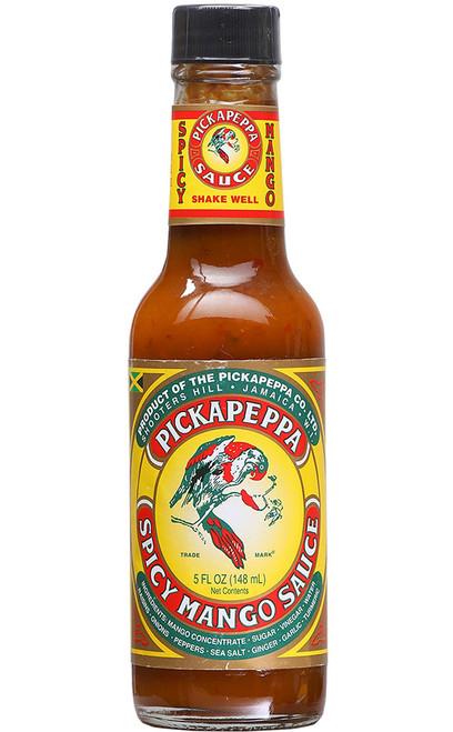 Pickapeppa Spicy Mango Hot Sauce, 5oz.