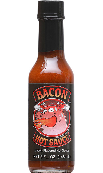 Bacon Hot Sauce, 5oz.