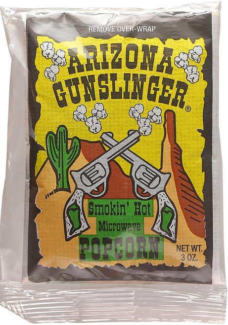 Arizona Gunslinger Smokin' Hot Microwave Popcorn, 3oz.