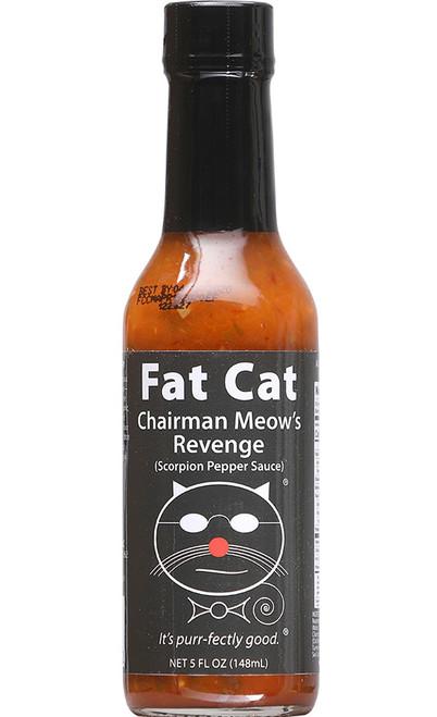 Fat Cat Chairman Meow's Revenge Hot Sauce, 5oz.