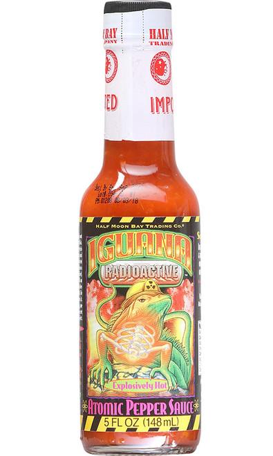 Iguana Radioactive Explosively Hot Atomic Pepper Sauce, 5oz.