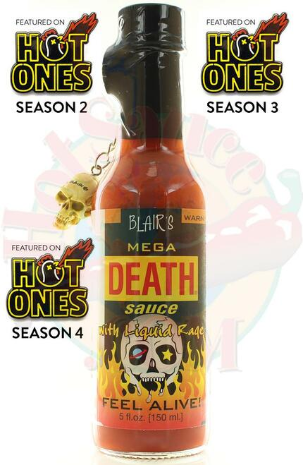 Blair's Mega Death Sauce with Liquid Fury, 5oz.