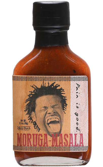 Pain Is Good Moruga-Masala Micro Batch Hot Sauce, 3.5oz.