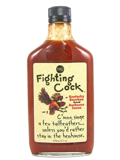 Fighting Cock Kentucky Bourbon BBQ Sauce, 12.7oz.