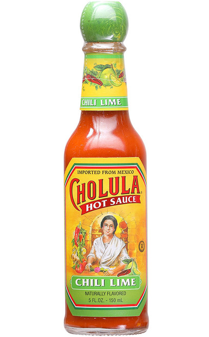 Cholula Chili Lime Hot Sauce, 5oz.