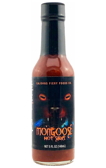 Mongoose Extreme Venomous Hot Sauce, 5oz.