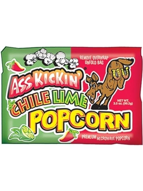 Ass Kickin Chile Lime Popcorn, 3.5oz.