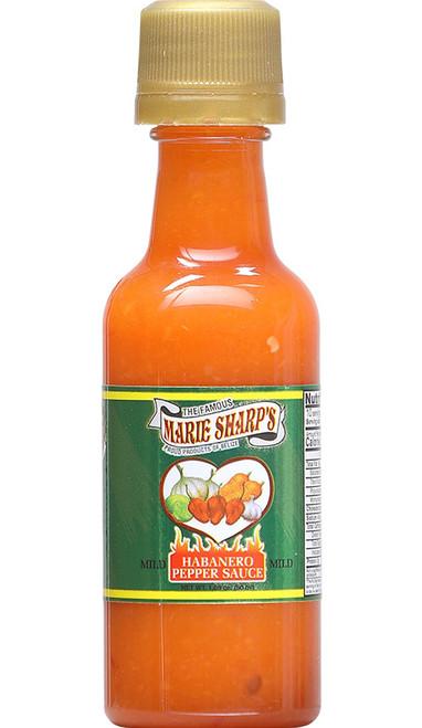 Marie Sharp's Mild Habanero Mini Pepper Sauce, 1.69oz.