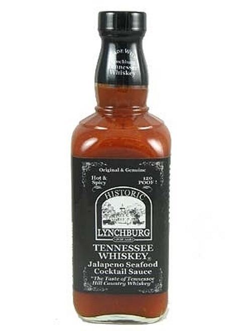 Historic Lynchburg Tennessee Whiskey Jalapeno Seafood Cocktail Sauce, 15oz.