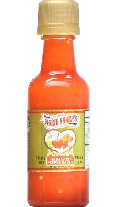 Marie Sharp's Fiery Hot Habanero Mini Pepper Sauce, 1.69oz.