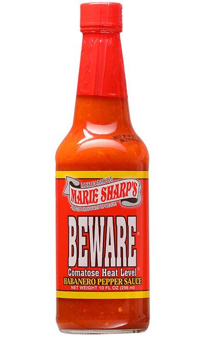 Marie Sharp's Beware Comatose Hot Sauce, 10oz.