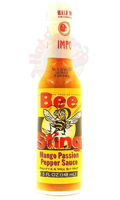 Bee Sting Mango Passion Hot Sauce, 5oz.