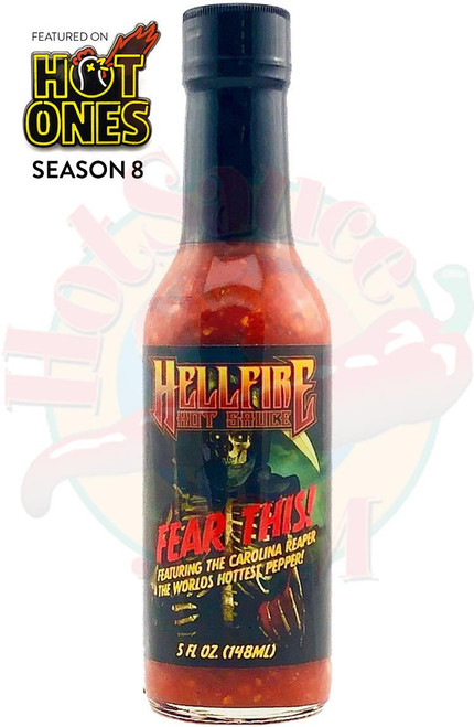 Hellfire Fear This! Reaper Hot Sauce, 5oz.