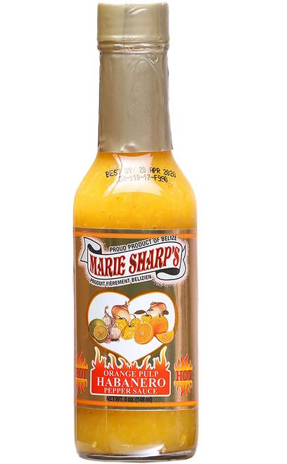 Marie Sharp's Orange Pulp Habanero, 5oz.