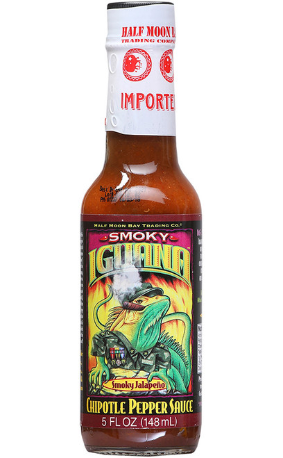 Iguana Smoky Jalapeno Chipotle Pepper Sauce, 5oz.