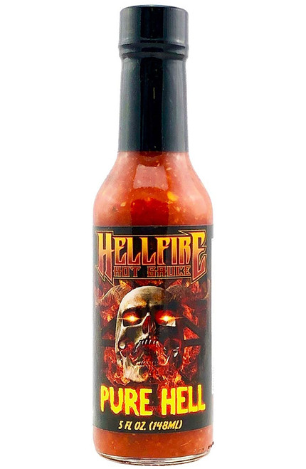 Hellfire Pure Hell Hot Sauce, 5oz.