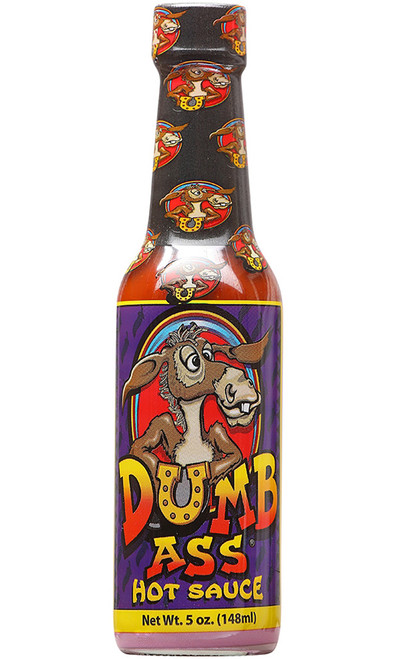 Ass Kickin Dumb Ass Hot Sauce, 5oz.
