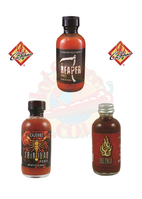 Hottest Purees Gift Set, 3/2oz.