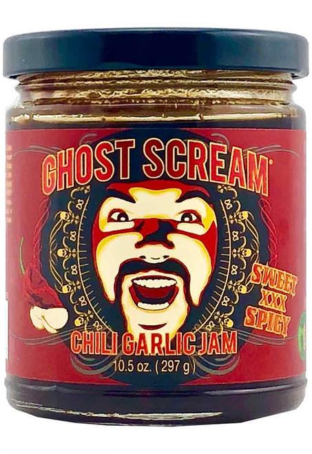 Ghost Scream Chili Garlic Jam, 10.5oz.