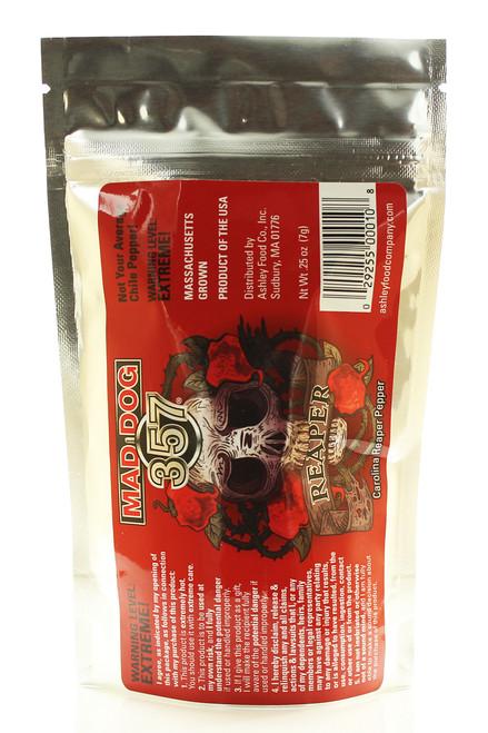 Mad Dog 357 Carolina Reaper Pepper Pods, 1/4oz.