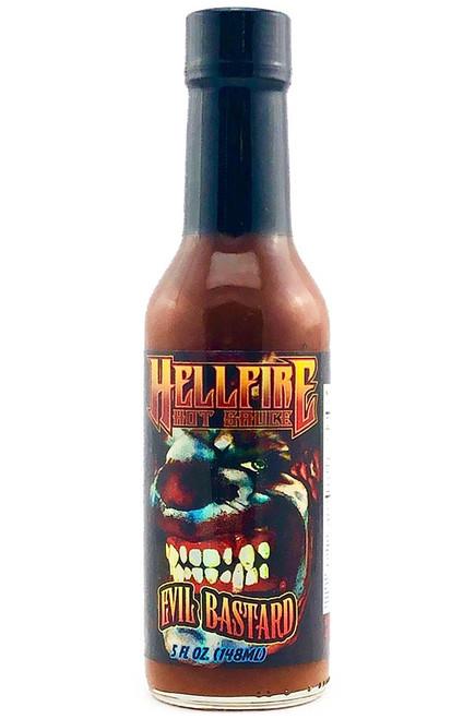 Hellfire Evil Bastard Hot Sauce, 5oz.