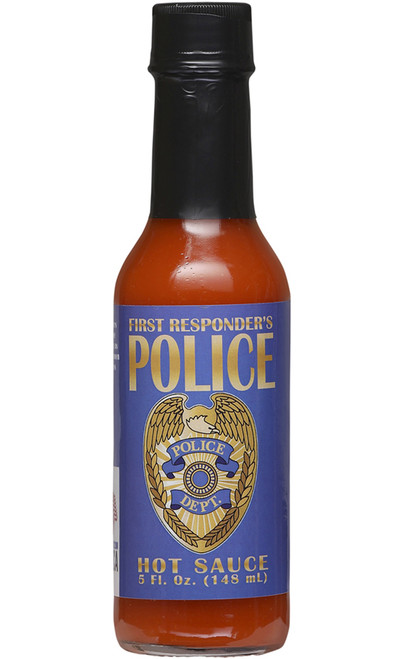 First Responder's Police Hot Sauce, 5oz.