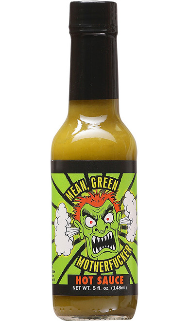 Mean Green Motherfucker Hot Sauce, 5oz.