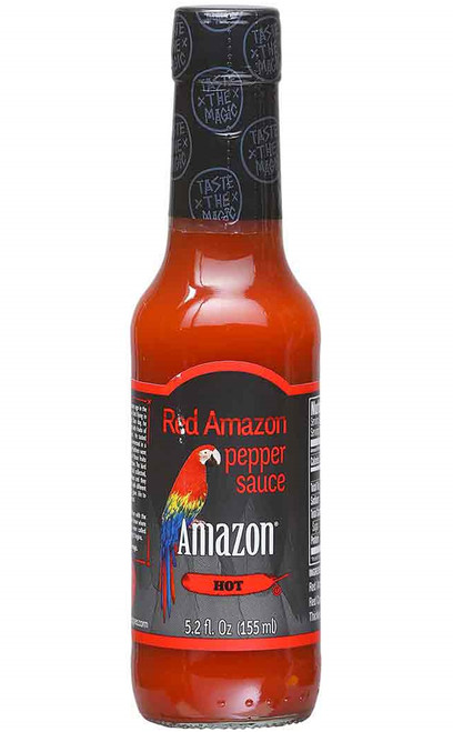 Amazon Red Hot Sauce, 5.2oz.