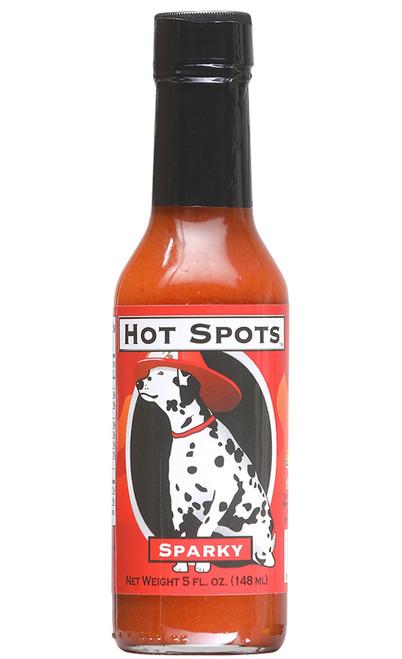 Hot Spots Sparky Hot Sauce, 5oz.