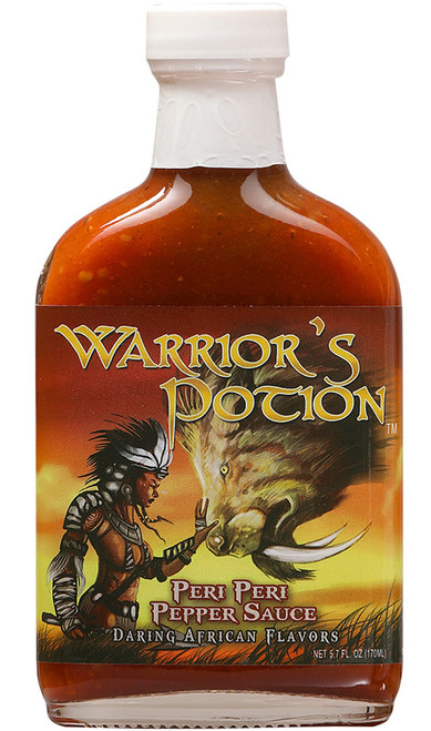 Warrior's Potion Peri Peri Pepper Sauce, 5.7oz.