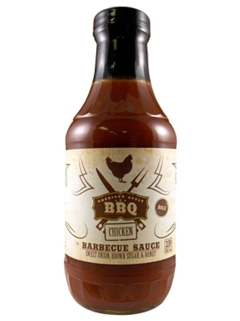 American Style BBQ Chicken Barbecue Sauce, 19oz.
