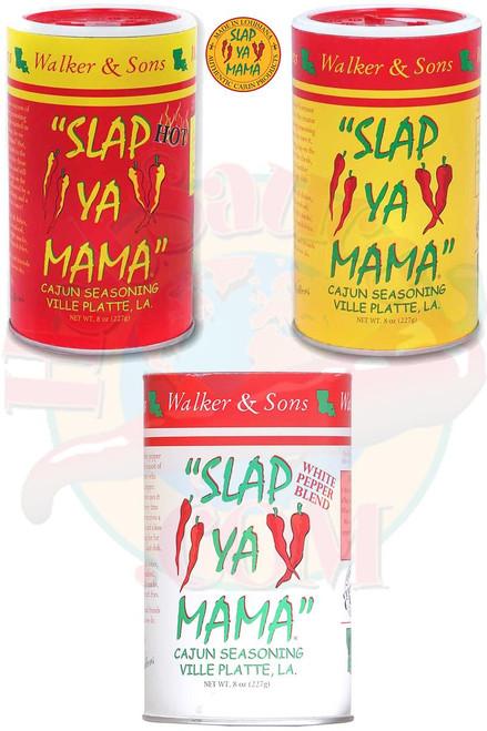 Slap Ya Mama Seasoning Gift Set, 3/8oz.