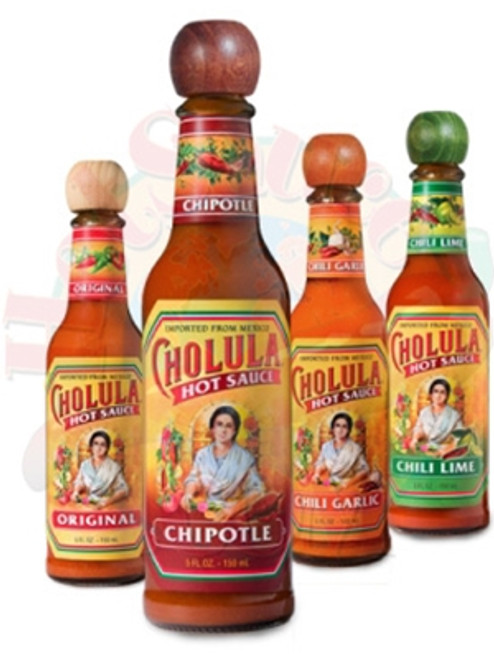 Cholula Hot Sauce Variety 4-Pack, 4/5oz.