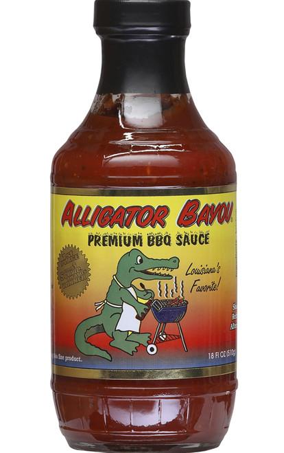Alligator Bayou Premium BBQ Sauce, 18oz.
