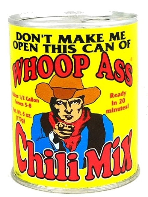Whoop Ass Chili Mix, 6oz.