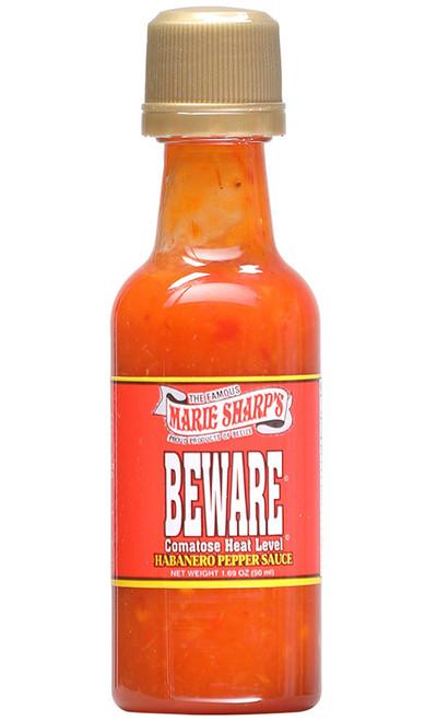 Marie Sharp's Beware Comatose Hot Sauce Mini, 1.69oz.