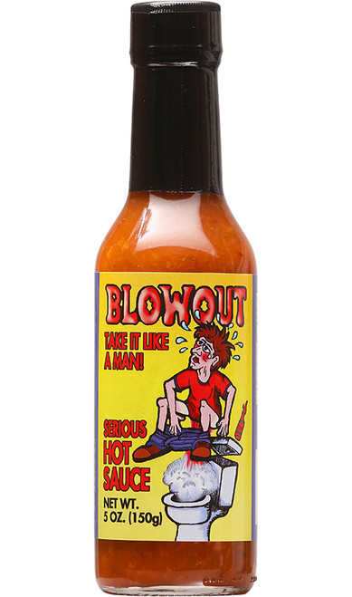 Blowout Habanero Serious Hot Sauce, 5oz.