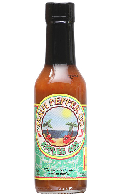 Tahiti Joe's Maui Pepper Apples Ass Hot Sauce, 5oz.