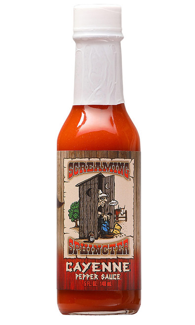 Screaming Sphincter Cayenne Pepper Sauce, 5oz.