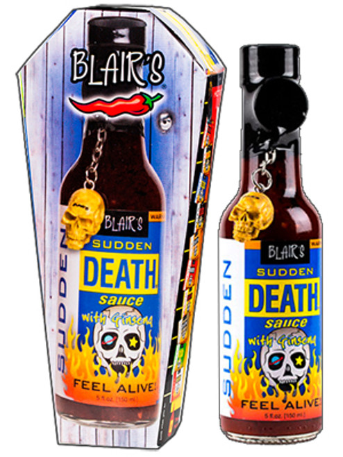 Blair's Sudden Death Sauce with Ginseng, 5oz.