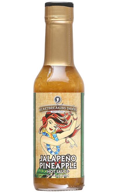 Heartbreaking Dawns Jalapeno Pineapple Hot Sauce, 5oz.