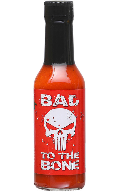 Bad to the Bone Hot Sauce, 5oz.