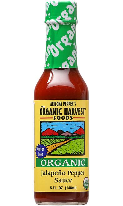 Organic Harvest Jalapeno Pepper Sauce, 5oz.