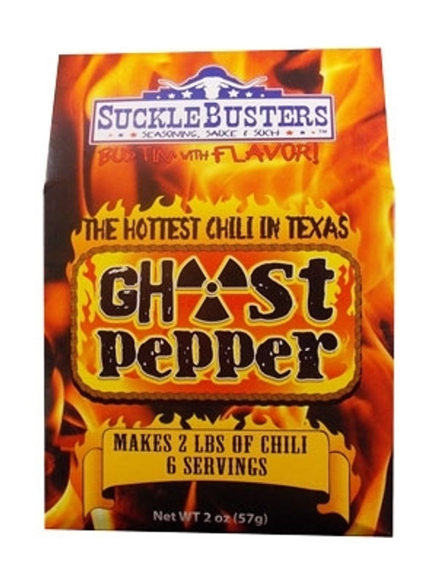 Sucklebusters Ghost Pepper Chili Kits, 2oz.