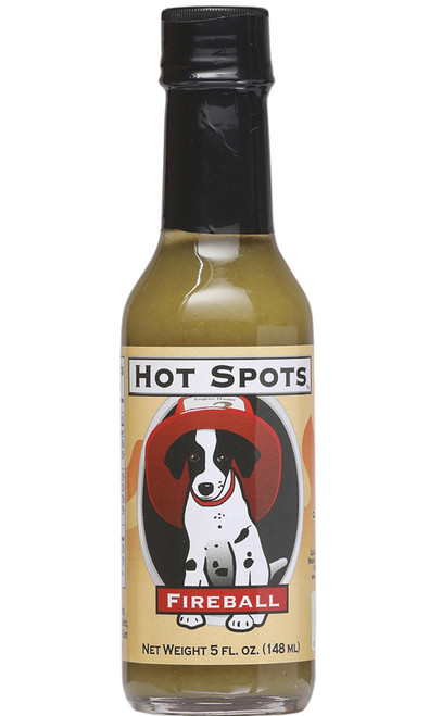 Hot Spots Fireball Hot Sauce, 5oz.