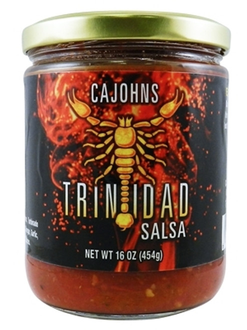 CaJohn's Trinidad Scorpion Salsa, 16oz.