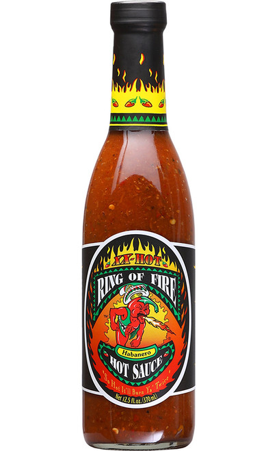 Ring of Fire XX-Hot Habanero Hot Sauce, 12.5oz.