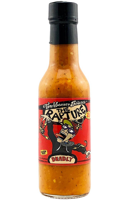 Torchbearer The Rapture Deadly Hot Sauce, 5oz.