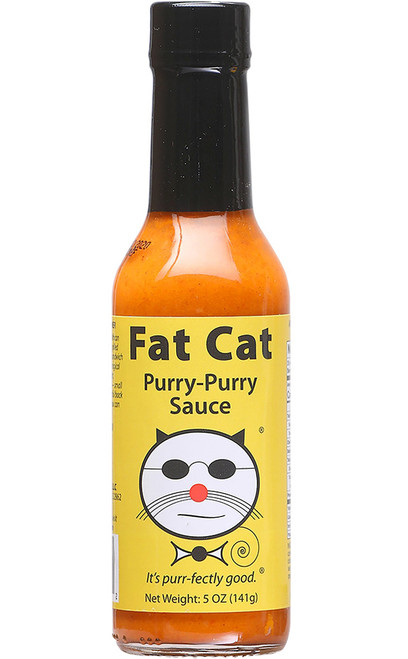 Fat Cat Purry-Purry Hot Sauce, 5oz.
