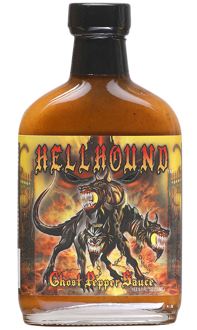 Hellhound Ghost Pepper Sauce, 5.7oz.